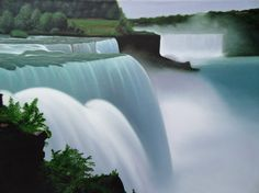 'Niagara' - Oil on Canvas