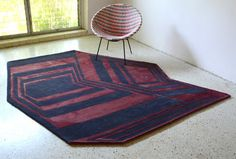 Art and Rugs by Michelle Weinberg - Design Milk