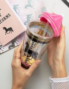 New Look | New Look Unicorn Carousel Drinking Cup