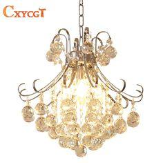 Pendant Lights Honey Modern K9 Crystal Led Chandelier Gold Luxury Ship Type Hanging E14 Light Fixture For Dining Room Bedroom Study Corridor Lamp