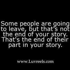 It's not the end of YOUR story