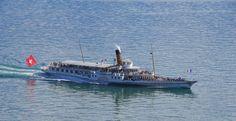 S/S Montreux - ABVL | Association des amis des bateaux à vapeur du Léman