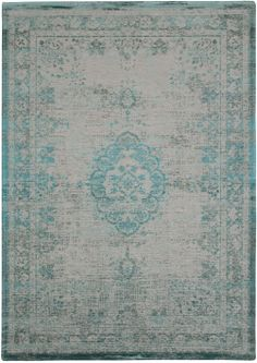 Louis De Poortere Fading World Rug in Oyster Green. Pure wool rug in green. Large Rugs and small rugs available. Modern rugs perfect for use in living room, bedroom and as kitchen rugs for a glamorous feel. All with free UK Delivery. Carpet Manufacturers, Tapis Design, Clearance Rugs, Patchwork Rugs, Reclaimed Wood Furniture, Oeko Tex 100, Transitional Rugs, Chenille, Modern Area Rugs