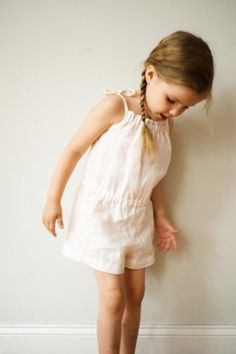 Summer Romper for Kids | Purl Soho - Create