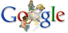 Google Doodle: Martin Luther King Day 2008