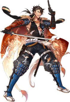` Touken Ranbu Samurai Anime, Samurai Art, Touken Ranbu Characters, Anime Characters, Cute Anime Boy, Anime Guys, Character Concept, Character Art, Assassin