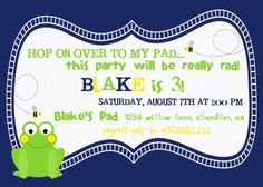 Shop for invitations on Etsy, the place to express your creativity through the buying and selling of handmade and vintage goods. Printable Party, Project Nursery, Boy Birthday, Party Invitations, Preppy, Old Navy, Baby Kids, Printables, Handmade Gifts
