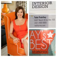 So thrilled to be named AY Magazine's pick as the best interior designer in Arkansas for 2014! Thank you!