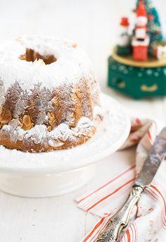 Receta tradicional de Kugelhopf. Receta de Navidad