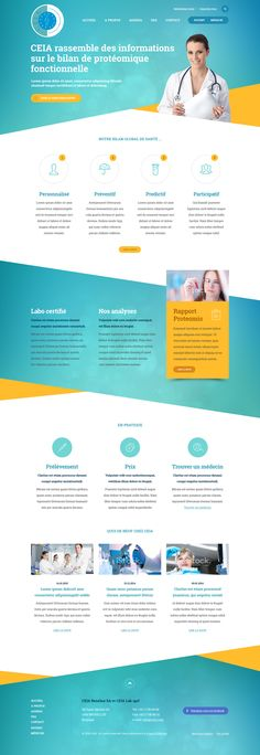 CIEA Website on Behance