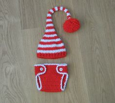 Crochet hat & diaper cover