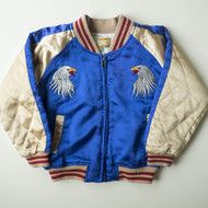 Toddler Kids size Jipang Zipang Yokosuka Japan Jumper Eagle Hawk Vs. Dragon Ryu Children's Padded Sukajan Jacket
