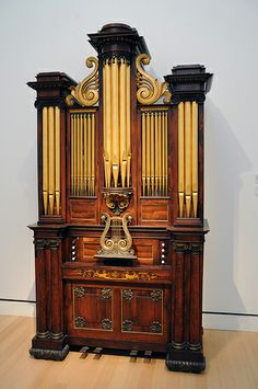Chamber Organ, 1827, George G. Hook (1807-1880) and William Hook (1777-1867)
