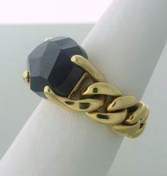 Pomellato Lola Gold Garnet Ring image 2