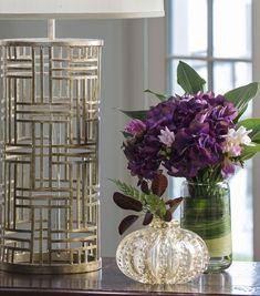 Vidro Venetian e incorporando Venetian vidro em sua decoração Home