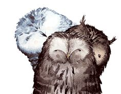"""Check out new work on my @Behance portfolio: """"Owl girls"""" http://be.net/gallery/43689565/Owl-girls"""