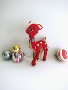 Dream Pets Little Red Christmas Deer