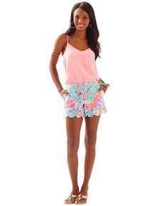 457136a6d772 LILLY PULITZER - BUTTERCUP SHORT Ugly Outfits