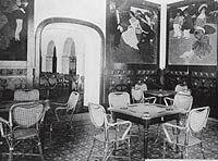 Sala del Tresillo del Gran Hotel La Toja. 1908