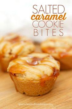 Salted Carmel Cookie Bites