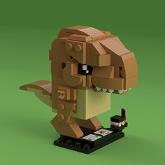 [LDD] BrickHeadz Jurassic Park/World: Rexy (& mini-Malcolm… | Flickr