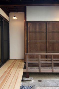 京都の伝統家屋 町家の貸切の宿 紫野しおん庵_縁側 kyoyadoya Japan kyoto machiya inn