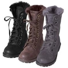 Bearpaw Women's 'Kayla' Suede Sheepskin-lined Lace-up Lug Sole Boots | Overstock™ Shopping - Great Deals on BearPaw Boots