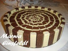 Minhas Tuas Nossas Receitas: Torta Gelada de Bis