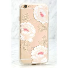 Sonix Ruby Rose Ivory and Rose Gold iPhone 6 Case ($35) ❤ liked on Polyvore featuring accessories, tech accessories and gold
