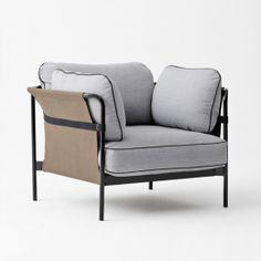 The Can Armchair designed by Ronan & Erwan Bouroullec for Hay is from the Can Collection that aims to reinvigorate the whole idea of the sofa, from something inherently complicated, to something simple and relaxed.