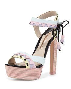 3bb3e281a287eb Sophia Webster Riko Pastel Platform Sandal