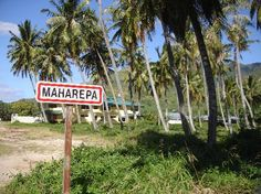 Maharepa. Had grocery, pearl shops, a few small things