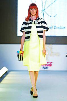 Vassilis Zoulias SS15 Yakinthi Coca Cola Light, Ss 15, Supermodels, Catwalk, Peplum Dress, Fashion Show, Athens, Designers, Friday