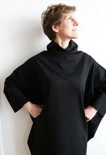 Big Black Dress - das Gegenteil vom Kleinen Schwarzen! 1000stoff | 1000STOFF