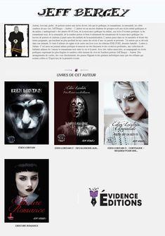 Tous les ouvrages de Jeff Bergey, disponibles à la boutique de chez Évidence Éditions
