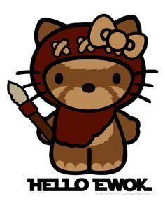 Lair of the Dork Horde: Hello Ewok - design by Reis O'Brien