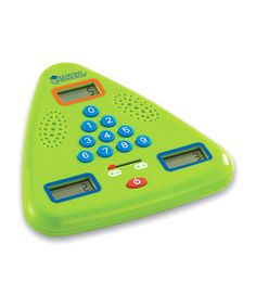 Look at this #zulilyfind! Minute Math Electronic Flash Card by Learning Resources #zulilyfinds
