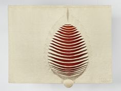 Pierre Daquin: Devenant 1968, Wolle, Goldfäden, 120 x 195 cm Fondation Toms Pauli Photo: A. Conne, Lausanne