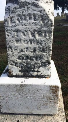 TOMBSTONE TUESDAY ~ Emily Gillen (1810-1887) #genealogy