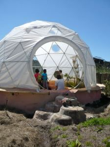 Dome Village In Progress – Sustainable Living