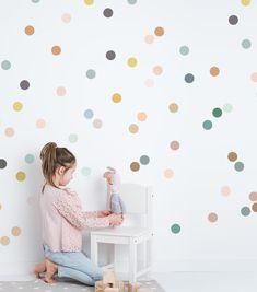 Murales cuna color multicolor Bimbi Dots multicolor