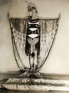 Art Deco Egyptian revival