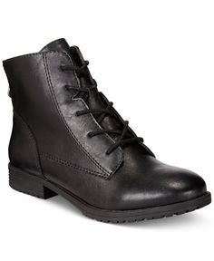 Style & Co. Qwinn Casual Lace Up Booties, Only at Macy's - Boots - Shoes - Macy's
