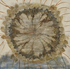 Sunflower. Painting by Georgian artist Merab Abramishvili