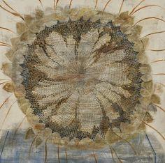 Sunflower. Painting by Georgian artist Merab Abramishvili