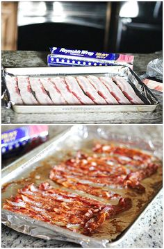 This is the ONLY way to make bacon! How to Cook Bacon in the Oven This is the ONLY way to make bacon! How to Cook Bacon in the Oven Cooking Tips, Cooking Recipes, Cooking Bacon, Oven Cooking, Cooking Light, Cooking Ware, Cooking Trout, Cooking Quotes, Cooking Stuff
