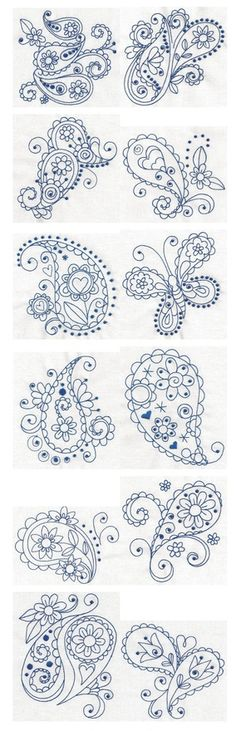 Art Paisley Blues ~ Tattoo ideas tattoos
