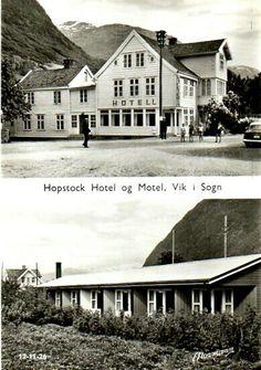 Sogn og Fjordane fylke Vik kommune Hopstock Hotel Utg Normann 1950-tallet Motel, Mansions, House Styles, Home Decor, Decoration Home, Room Decor, Villas, Interior Design, Home Interiors
