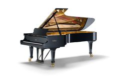 The Piano originated in Italy. The word piano is a shortened form of pianoforte, which is the Italian word for piano. A piano has 52 white keys and 36 black keys. The modern piano is credited to Bartolomeo Cristofori (1655–1731) of Padua, Italy who was employed as the Keeper of the Instruments for the Grand Prince of Tuscany.