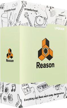 b73a62ba9e Propellerhead Reason 7 Upgrade (from any version Reason) Hangstúdió,  Zeneproducerkedés
